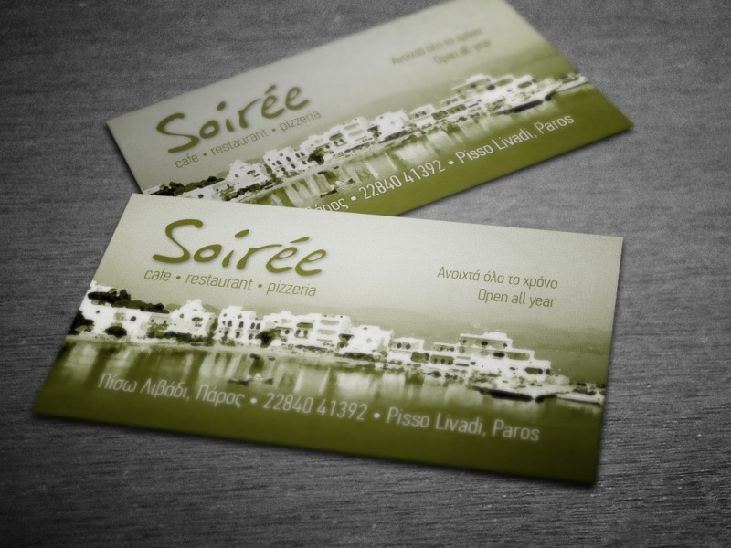 Soiree-card